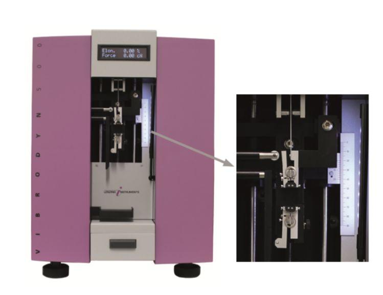 Staple fiber testing Vibrodyn 500